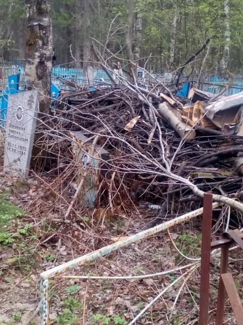 Образец жалобы по уборке мусора на кладбище